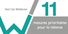 Get up Wallonia : 11 mesures prioritaires pour la relance